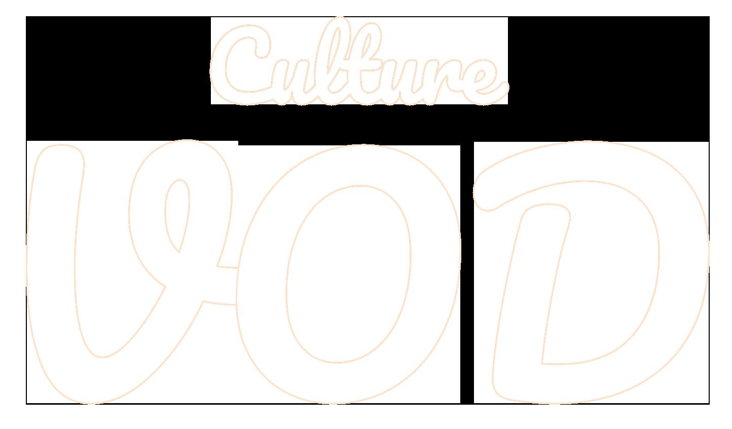 Logo Culture VOD Blanc